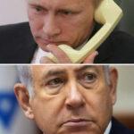 Putin denunció ante Netanyahuviolaciones a la soberanía siria con operaciones aéreas de Israel