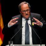 Presidente regional de Cataluña exige absolución de independentistas presos