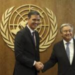 Espana transmite al secretario general de la ONU su compromiso con el multilateralismo