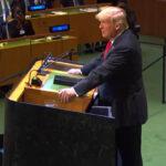 Trump se lanza contra la globalización, la ONU y las instituciones internacionales (VIDEO)