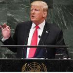 """ONU: Trump desata risas al decir que su gobierno hizomás que """"casi cualquier otro"""" en la historia (VIDEO)"""