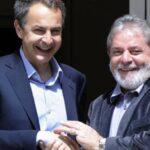 """Zapatero prevé victoria """"generosa"""" del sucesor de Lula en comicios brasileños"""