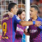 Liga Santander: Barcelona iguala 1-1 con Valencia y pierde ocasión de ser puntero
