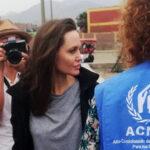 Angelina Jolie está en Perú para conocer situación de refugiados venezolanos