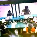 Así pasó el prófugo César Hinostroza por Migraciones (Videos)