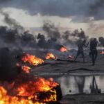 Israel tras lanzamiento de cohetes bombardea enclave palestino de Gaza