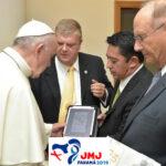 El Papa se convierte en 1er jugador de videojuego del JMJ Panamá 2019