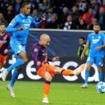 Champions League: Manchester City en el m.87 derrota 2-1 al Hoffenheim