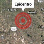 Un sismo de magnitud 4.8 sacude el sur de Perú sin ocasionar daños