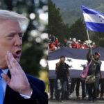 Trump amplía amenaza a tres países por caravanas de inmigrantes que se dirigen a EEUU