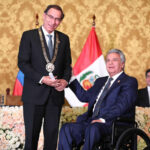Vizcarra fue investido con Orden Nacional al Mérito de Ecuador