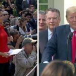 La Casa Blanca admite que Trump le dijo a una periodista que nunca piensa