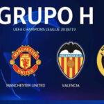 Champions League: Resultados y tabla de posiciones del Grupo H