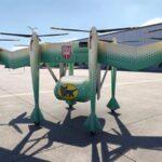 Empresa nipona diseña un vehículo volador para repartos a larga distancia