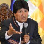 Evo Morales dice que EEUU busca devastar Venezuela como en Irak y Libia