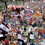 Costa Rica entra a la cuarta semana de huelga estatal sin acuerdo a la vista