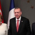 Erdogan, Macron y Merkel coinciden en pedir que pueblo sirio decida su futuro