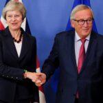 """May abre la puerta a extender el periodo de transición del """"brexit"""""""