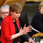 """Sturgeon aboga por un frente parlamentario en contra del acuerdo del """"brexit"""""""