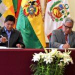 Bolivia y Perú firman acuerdo para vigilar áreas protegidas fronterizas