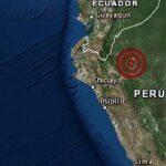 IGP: Un sismo de magnitud 5.4 se registra en la región San Martín