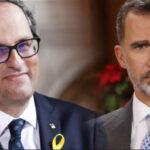 España: Torra llama «hooligan» al Rey y pidemediación internacional en Cataluña