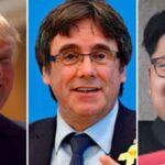 Time: Trump, Puigdemont y Kim Jong-un nominados al premio Nobel de la Paz