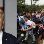 Trump advierte a caravana de inmigrantes: Ilegales que crucen la frontera será deportados