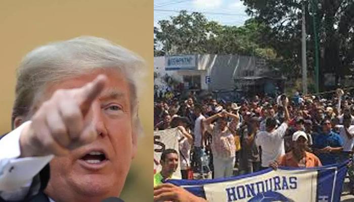Cientos de hondureños inician viaje a pie en caravana hacia EU