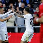 Liga Santander: Valencia venció 3 a 0 al Rayo Vallecano equipo de Advíncula