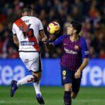 Barcelona obligado a no fallar remontó y con poco fútbol venció a Rayo Vallecano