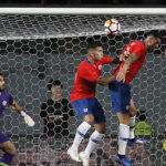 Costa Rica, próximo rival de Perú, vence con autoridad a Chile por 3-2