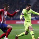 Barcelona estaba al borde del nocaut pero Dembelé puso el 1-1 ante Atlético de Madrid