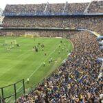 YouTube: Boca Juniors entrena a puertas abiertas y retumba la 'Bombonera'