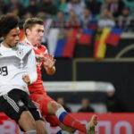 Alemania regresa al triunfo con un equipo renovado al golear 3-0 a Rusia