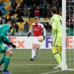 Liga Europa: Arsenal asegura la punta del Grupo E goleando 3-0 al Vorskla Poltava
