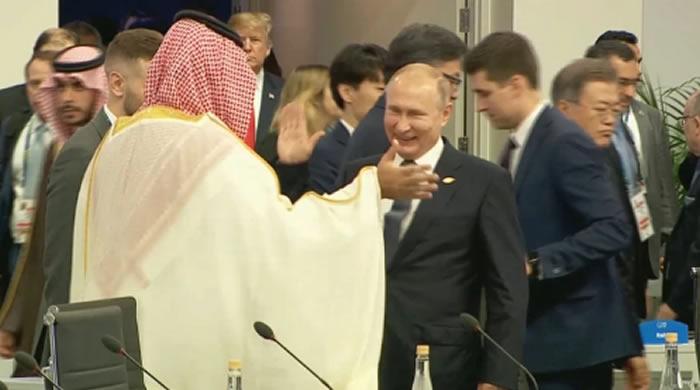 G20: llegó al país el polémico príncipe saudita bajo extrema vigilancia