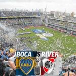 Copa Libertadores: Lluvia obliga aplazar partido de ida final entre Boca y River