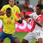 Ecuador superó 2-0 a Perú en pobre y deslucida actuación de la bicolor