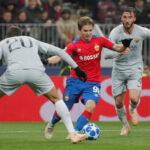 Liga de Campeones: Roma lidera el Grupo G al ganar 2-1 al CSKA Moscú