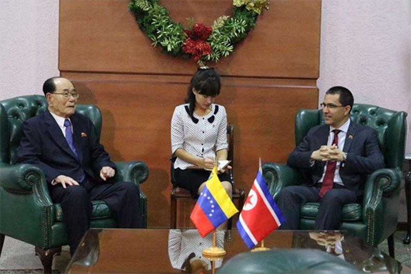 Venezuela y Corea del Norte refuerzan lazos políticos