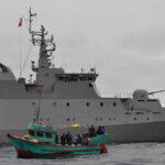 Chile: Armada captura embarcación peruana por presunta pesca de tiburones en zona exclusiva