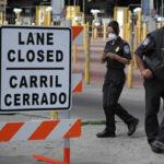 EEUU cierra temporalmente carriles en los cruces fronterizos con México (VIDEO)