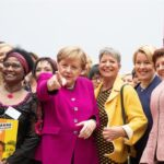 Merkel aboga por una sociedad paritaria y pide más mujeres en los parlamentos