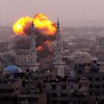 Israel en represalia por disparos bombardea canal de TV de Hamás en Gaza
