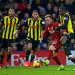 Premier League: Liverpool vence 3 a 0 a Watford y sigue a dos puntos del City