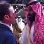 Presidente Macron recrimina a príncipe saudita Bin Salman: Nunca me escuchas (VIDEO)