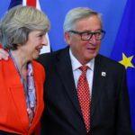 Brexit: May continuará dialogando con Juncker en Bruselas el sábado