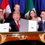 G 20: Estados Unidos, México y Canadá suscribieron el acuerdo sucesor del Nafta