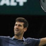 Masters 1000 de París: Djokovic vía al título ante el ruso Khachanov